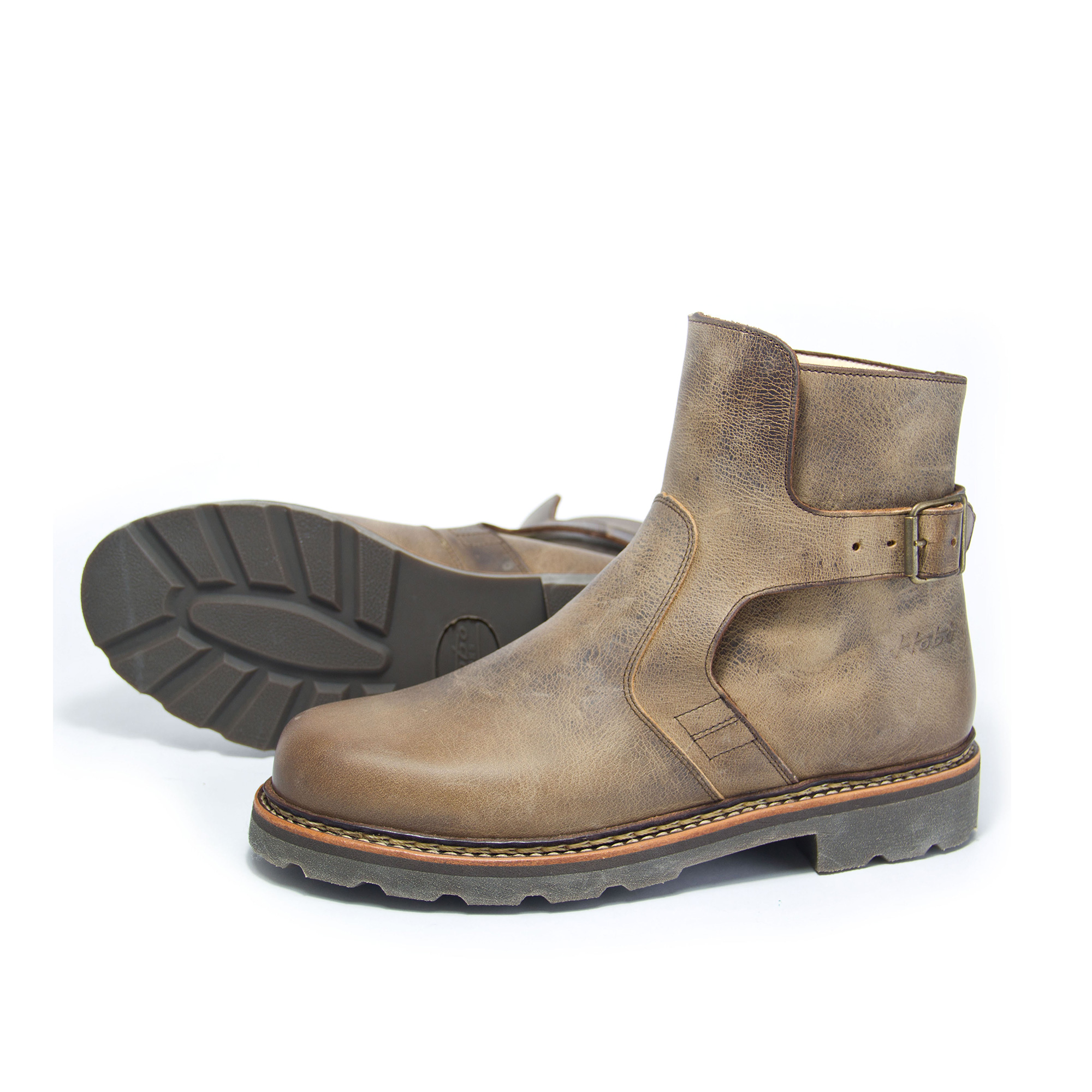 Worker Afghan  Workerboots crazy horse