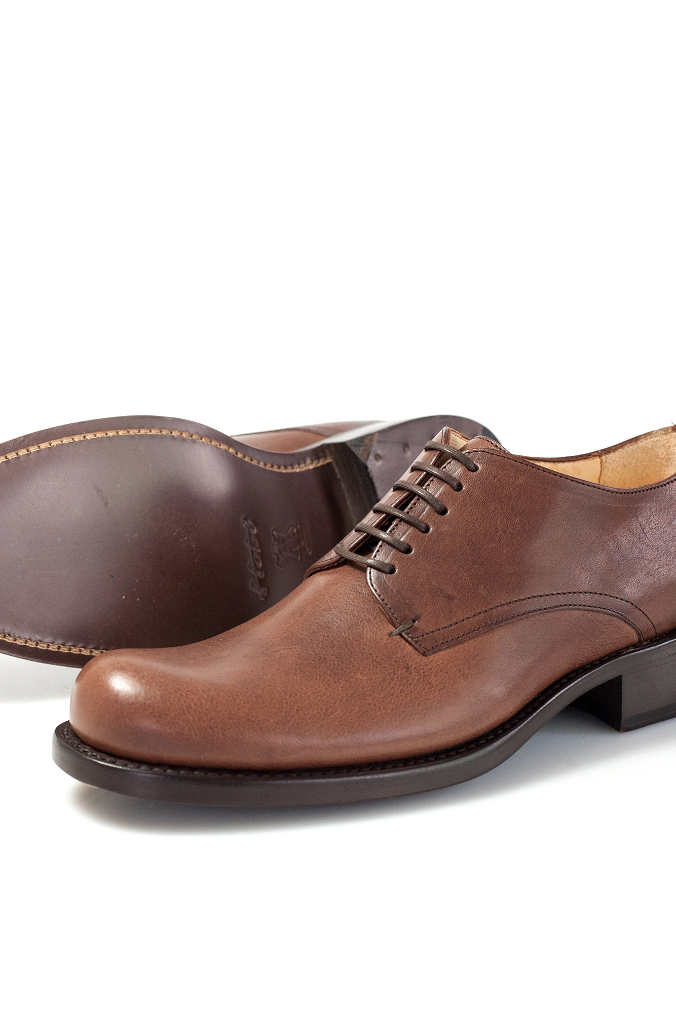 Garth Herrenhalbschuh brown braun
